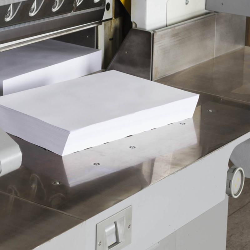 Papierzuschnitt druckerei